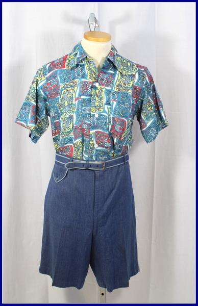 late 40s sulka shorts